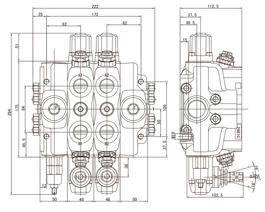 sd180 series sectional directional control valves